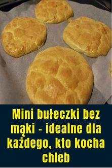 Mini bułeczki bez mąki – id...