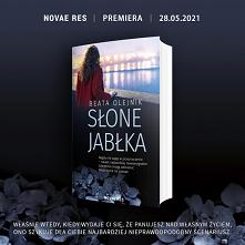 """Z przyjemnością informujemy, że objęliśmy patronatem """"Słone Jabłka"""", literaturę obyczajową spod pióra Beaty Olejnik…"""