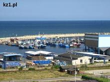 Port morski we Władysławowie.