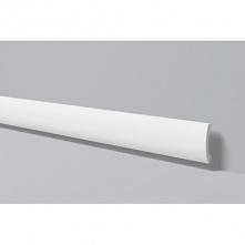 Listwa przypodłogowa gładka z lekkim zaokrągleniem firmy NMC to FD3 Wallstyl. Ta biała listwa podłogowa pasuje do każdego innego koloru i nie ma problemu, aby ją pomalować na ko...