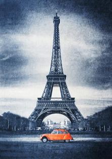 Wieża Eiffla - dywan Simo a...