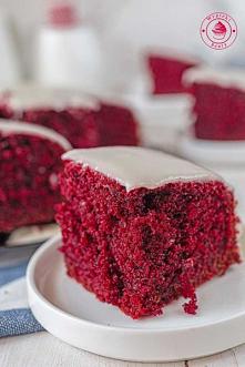 Ciasto red velvet - Wypieki...