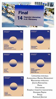 Laureaci 14. Nagrody Literackiej m. st. Warszawy