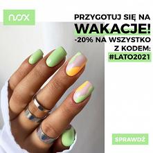 Udane wakacje nie mogą obejść się bez efektownego manicure, dlatego mamy dla Was coś specjalnego! Już od dzisiaj z kodem #lato2021 kupicie WSZYSTKIE nasze produkty aż 20% taniej!