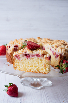 Ciasto z truskawkami – wilg...