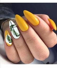 #żółte #zieleń #biel