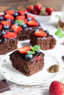 Ciasto wegańskie – czekolad...