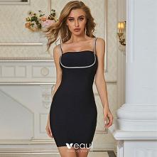 Moda Czarne Odzież na wakac...