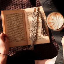 zakładka do książki ze sznu...