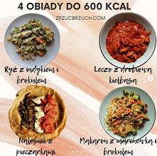 4 obiady do 600 kcal. Darmo...