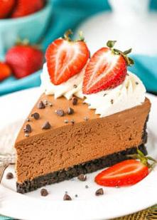 No-Bake Chocolate Cheesecak...