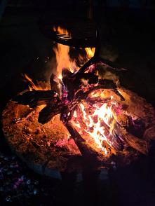 Klimat ogniska, ma swój urok.