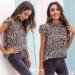 Moda Lato Zużycie ulicy Leopard Print Kobiety Bluzki 2021 Regularny Wysokiej Szyi Bez Rękawów Topy Damskie Bluzki