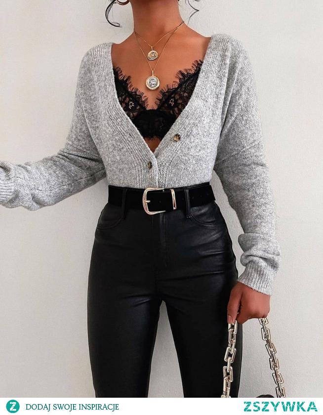 stylizacja że sweterkiem  #mojstyl #stylizacja #sweterek