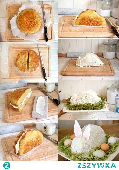 #zając#ciasto
