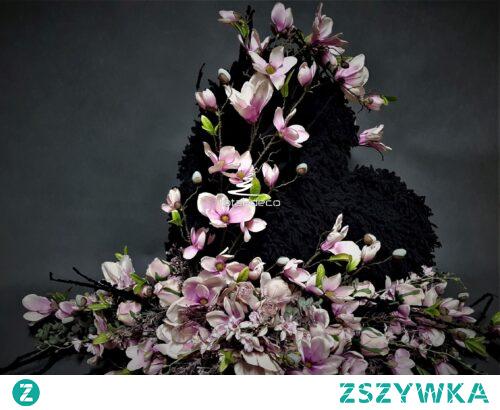 Nowoczesny stroik nagrobny serce od totaldeco.pl