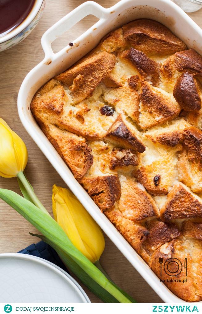 Bread pudding, czyli najpyszniejszy sposób na czerstwe ciasto drożdżowe