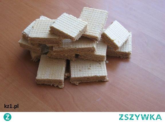 Wafle z kremem - Piszinger, smak dzieciństwa. Kto z was takie jadł?