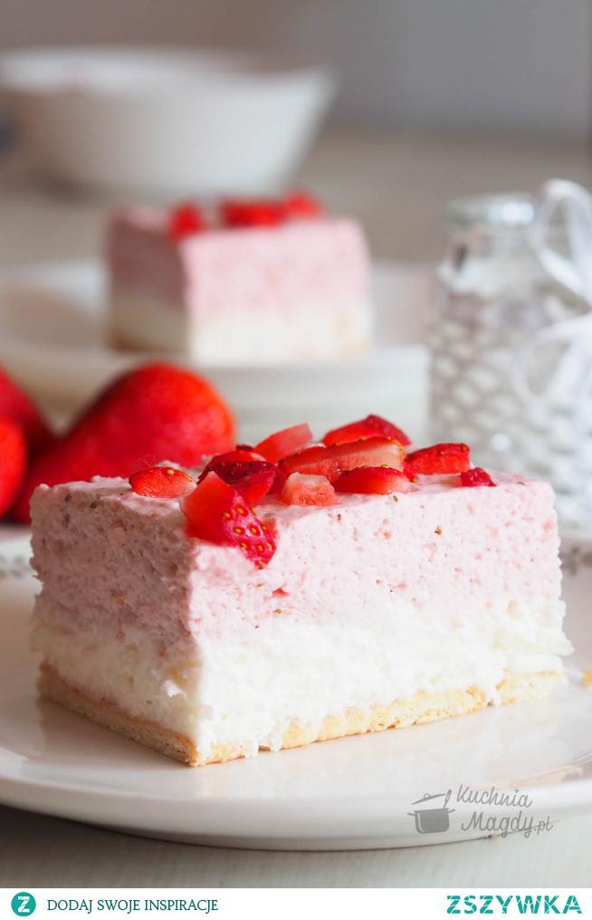 Ciasto Truskawkowa bajka.
