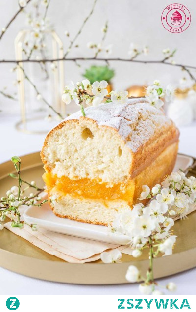 Ciasto z żelką mango   Przepisy   Wypieki Beaty
