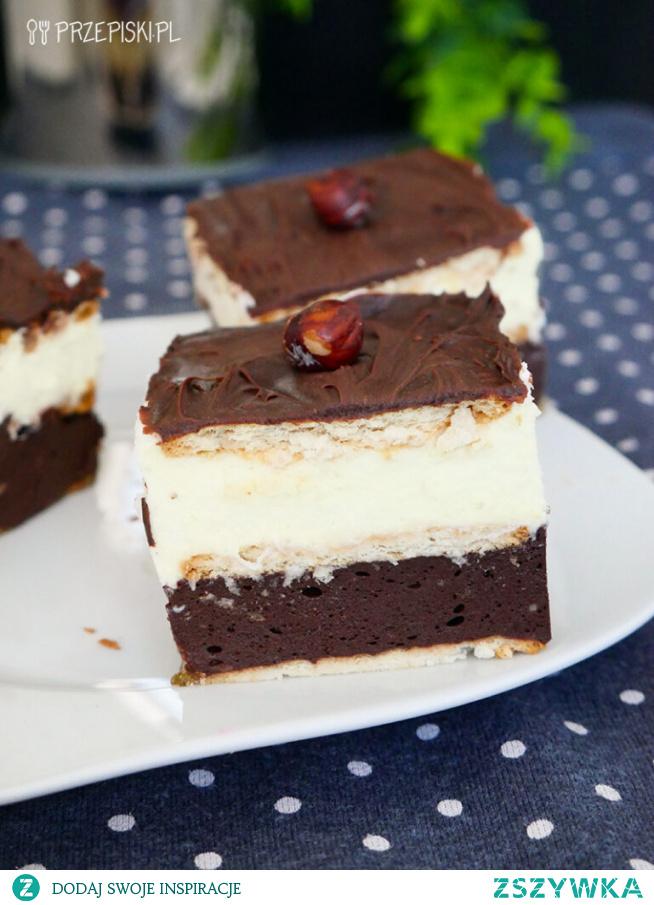 Ciasto Knoppers bez pieczenia