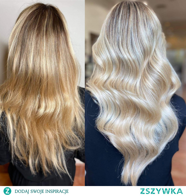Nowy perłowy blond