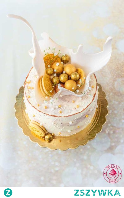 Tort z kajmakiem i czekoladą   Przepisy   Wypieki Beaty