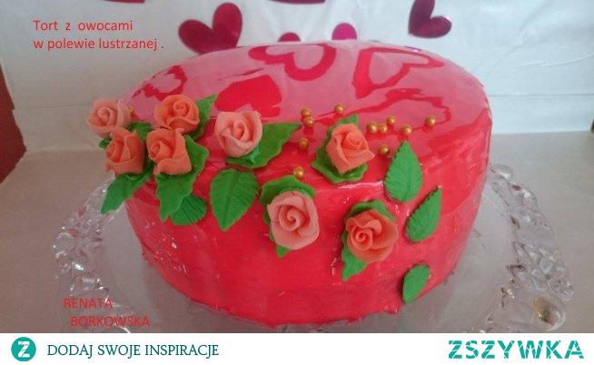Tort  w  polewie  lustrzanej