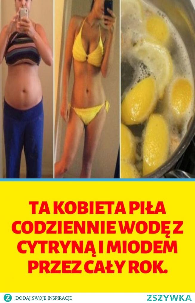 Ta kobieta piła codziennie wodę z cytryną i miodem przez cały rok.