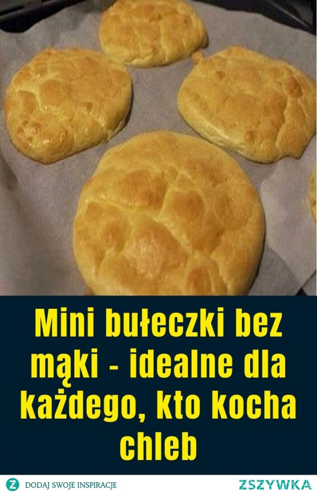 Mini bułeczki bez mąki – idealne dla każdego, kto kocha chleb