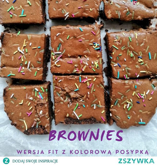 Przepis na pyszne fit brownies :)