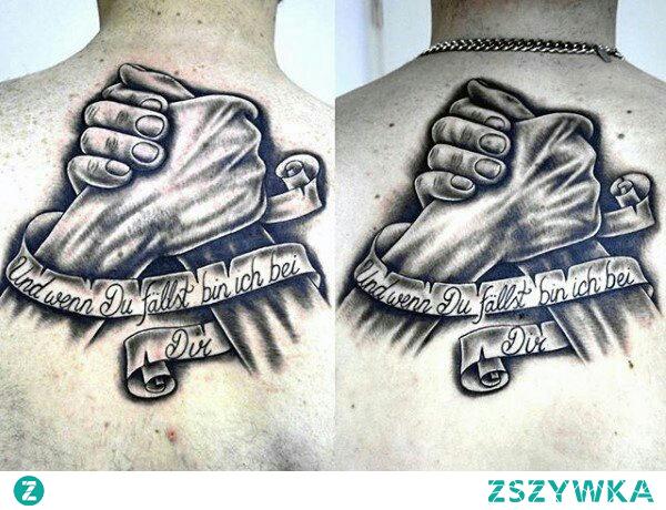 Tatuaż dla dwojga (np. Dla Braci) Bo Braci Sie Mnie Traci