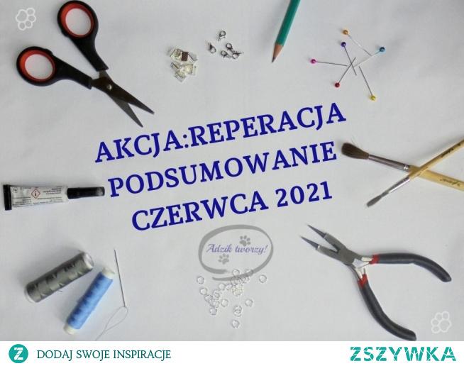 Szukasz pomysłów na przeróbkę starej spódnicy? A może chcesz dopasować za luźne spodnie w pasie?   Inspiracje na naprawy, re- i upcykling oraz ubraniowe przeróbki znajdziesz w podsumowaniu AkcjiReperacji na blogu Adzik-tworzy.pl