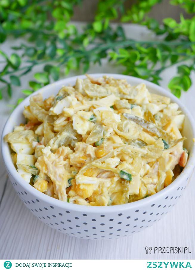 Sałatka z cebulą