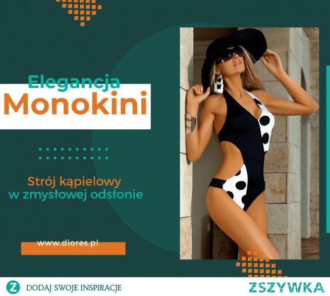 Monokini strój kąpielowy elegancki czy raczej kiczowaty ? Co sądzicie o takiej propozycji na lato. Mookini to kostium kąpielowy, który z pewnością ma swój urok.