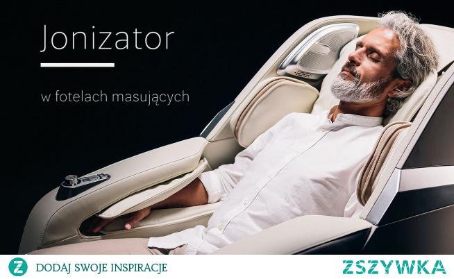Funkcja jonizacji w fotelu masującym jest dodatkowym atutem, o którym z pewnością warto wspomnieć. Oczyszcza powietrze i umysł.