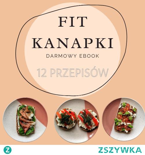Darmowy Ebook - 12 przepisów na fit kanapki do pobrania w naszym sklepie :)