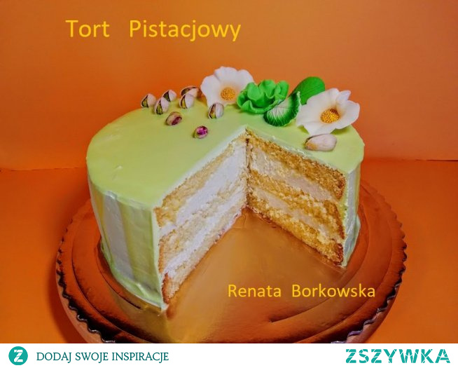 Tort   Pistacjowy
