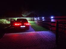 Wjazd nocą