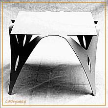 Kwadratowy stolik obiadowy ...