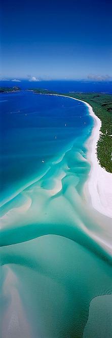Whitehaven Beach, Australia#foto#plaża