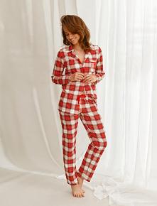 Piękne piżamy damskie z baw...