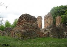 Ruiny zamku w Raciążku. His...