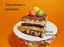 Ciasto   z  masą  kajmakową...