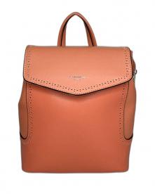 Plecak damski w pomarańczow...