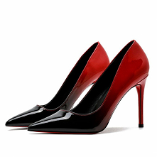 Piękne Czerwone Gradient-Ko...