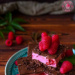 Ciasto maliny w czekoladzie - Wypieki Beaty#przepis#deser
