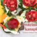 Proteinowe kanapki z jajkiem na chlebie z kauflandu