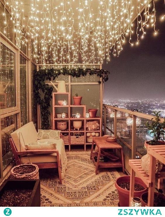 To musi być magia, usiąść tam i patrzeć na taki widok ^^#balkon#wnetrza