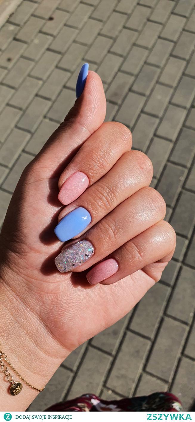 pink& blue